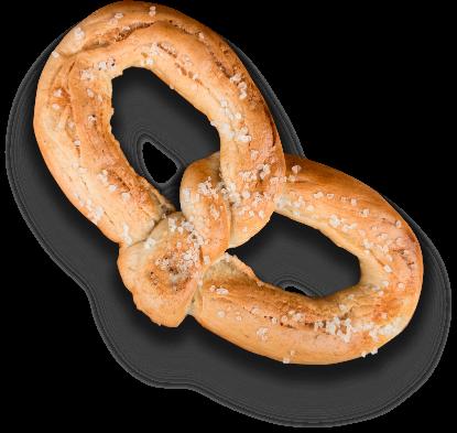 H&B Pretzel Style Bagel